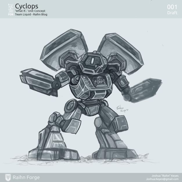 What If   the Cyclone was the Cyclops